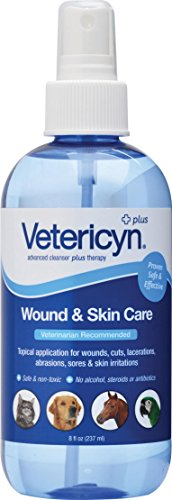 VETERICYN ALL ANIMAL WOUND & SKIN CARE - 8 OUNCE PUMP by DavesPestDefense (Image #1)