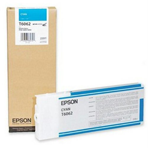 Epson Cyan Ink Cartridge 220ML for Stylus Pro 4800/4880 (Cyan 220 Ml Ink)