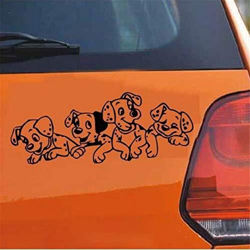 Wall Decor Stickers for Living Room Doll Leisure Puppy Dog Pet Car Funny Sticker Decal Bumper Sticker Rear Window Car Sticker]()