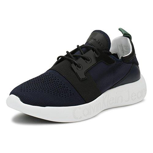 Calvin Klein Jeans Mens Indigo Mel Sneakers-UK 11