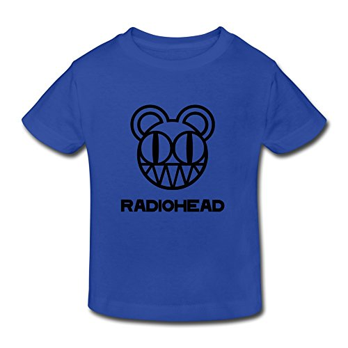 Price comparison product image Toddler Vintage Radiohead T-shirts Size 2 Toddler RoyalBlue By Parkearl