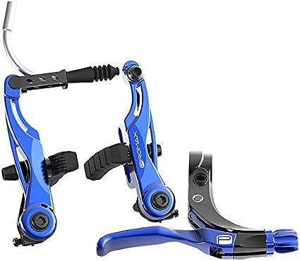 PROMAX Click V-Point Brake Lever Long Blue