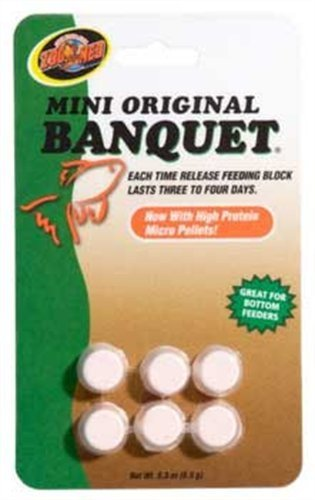 (Zoo Med Laboratories AZMBB2 Mini Banquet Block Feeders )