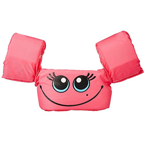 Water Toys, Elevin(TM) Children Kids Baby Float Arm Swimming Cartoon Life Float Jacket Safety Vest (A Pink)