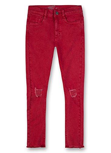 GEORGE GINA & LUCY GIRLS Trouser Woven, Pantalones para Niñas Rojo (Lipstick Red 38058.0)