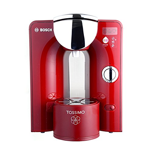 Bosch Tassimo T55 Red Machine Capsule Coffee Only 220v