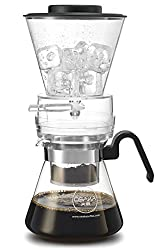 "Osaka Cold Brew Coffee Dripper, Adjustable Dripper with Glass Carafe ""Mount-fuji"" by Osaka"