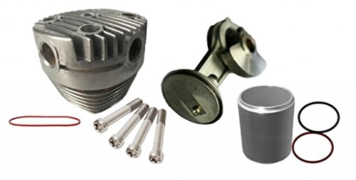 r Connecting Rod / Piston / Cylinder Wall / Head Rebuild Kit ()