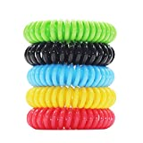 Vmini Mosquito Repellent Bracelet for Kids, Adults & Pets - 20 Pack Natural
