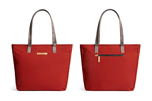 Bellroy Tokyo Tote, Water-Resistant Woven Tote Bag (13'' Laptop, Tablet, Notes, Cables, Drink Bottle, Spare Clothes, Everyday Essentials) Red Ochre by Bellroy (Image #2)