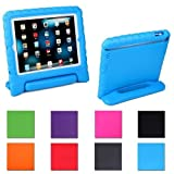 Aken Kids Light Weight Shock Proof Handle Case for iPad Mini 1/ Mini 2 / Mini 3 (Blue)
