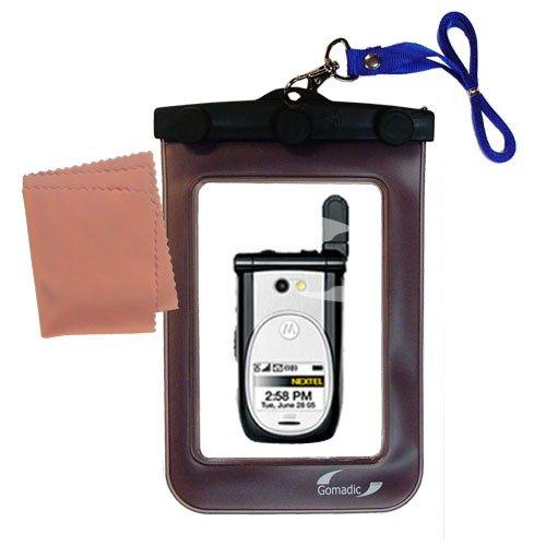 Gomadicアウトドア防水携帯ケースSuitable for the Nextel i920 i930に使用Underwater – keepsデバイスClean and Dry   B0049KSP40