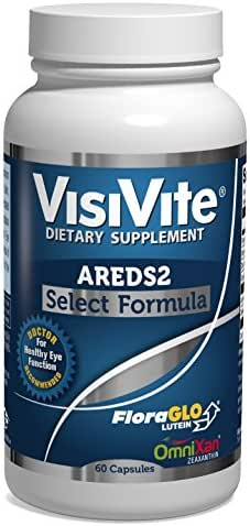 VisiVite AREDS 2 Select Eye Vitamin Formula - 60 Capsules (1 Month Supply)