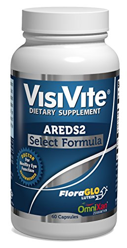 VisiVite AREDS 2 Select Eye Vitamin Formula - 60 Capsules (1 month supply) - Areds Formula