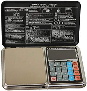 バックライト付き液晶ディスプレイポータブルキッチン計量スケールで高精度デジタルポケットスケール0.1 g / 0.01 g