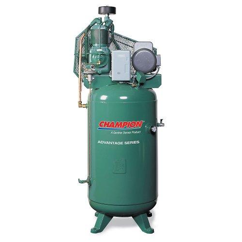 Champion Stationary Electric-Powered Air Compressor - 5 Horsepower - 80-Gallon Capacity Tank