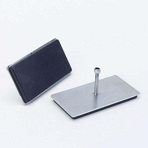 Supa-mag magpad 5, Farbe  Bright Nickel & Schwarz, Größe  104 mm x 53 mm x 12,75 mm 7 kg neigen Widerstand B01ETHCUF2     | Zuverlässiger Ruf