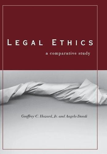 Legal Ethics: A Comparative Study
