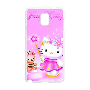 Lovely pink Kitty Cell Phone Case for Samsung Galaxy Note4