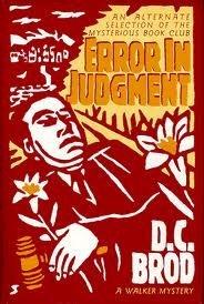 book cover of Error in Judgement