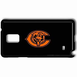Personalized Samsung Note 4 Cell phone Case/Cover Skin 1236 chicago bears Black