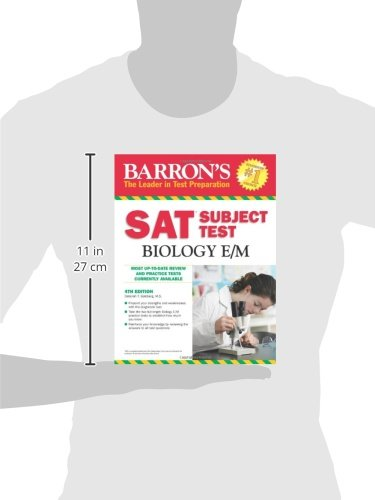 Barron's SAT Subject Test Biology E/M, 4th Edition