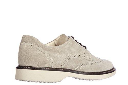 Hogan Clásico Zapatos de Cordones EN Ante Hombres Nuevo Nuove Derby h 217 Route