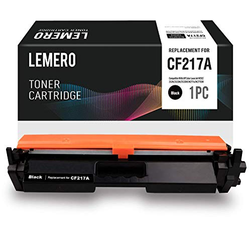 LEMERO Replacement for HP 17A CF217A Toner Cartridge with Chip - Compatible for...