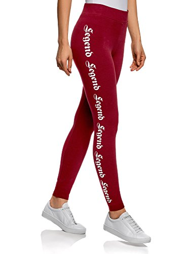 Ultra Maglieria Red Oodji With Print 4910p Women 7nr85pn