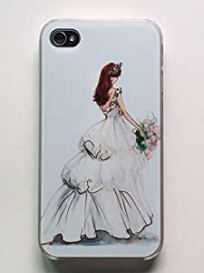 Iphone Case,iphone 4/4s Case,iphone 4/4s/4g Cover,LYYF Fashion and High Quality the Beautiful Bride Hard Case/cover/skin for Iphone 4/4g/4s