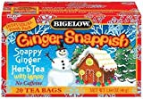 Bigelow Tea Ginger Snappish 20 Bags (Pack of 3) For Sale