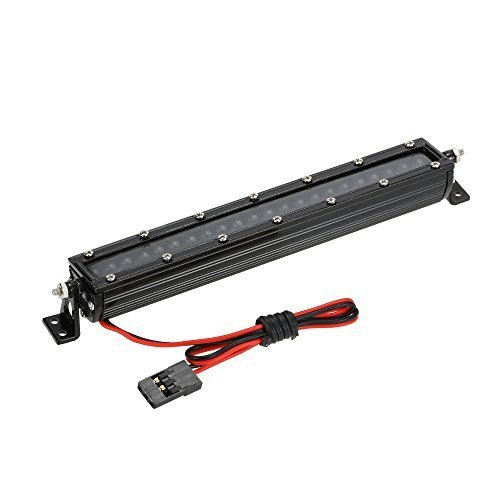 Rc light bars amazon rc 4wd 110 high performance smd led light bar hsp white roof light led for d90 scx10 cc01 rock crawler aloadofball Images