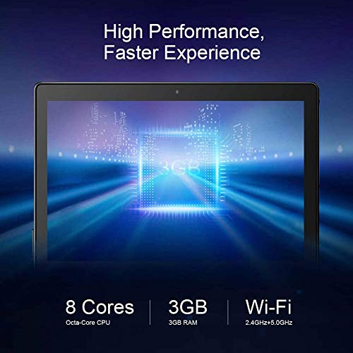 Dragon Touch Max10 Tablet 10 Pulgadas WiFi 5G, Android 10.0 OctaCore 1920x1200 10.1\