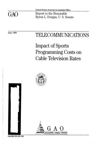 Telecommunications: Impact of Sports Programming Costs on Cable Television Rates