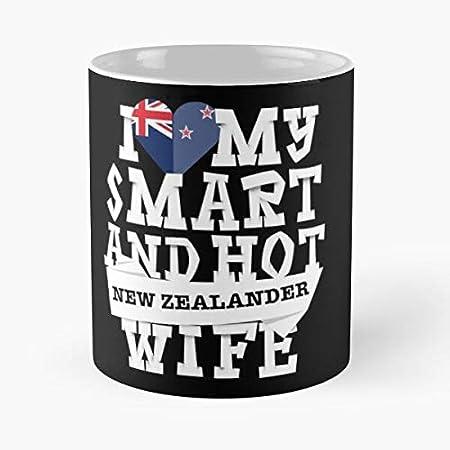 Nuevo Día Marido Cultura Zelanda Zealand Zealander Wife San Valentín Oceania Mejor 11oz Cerámica Taza Personalizar