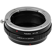 Fotodiox Lens Mount Adapter - Sony Alpha A-Mount (and Minolta AF) DSLR Lens to Fujifilm X-Series Mirrorless Camera Body, with Built-In Aperture Control Dial