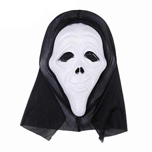 NXDA Grimace Latex Mask Horror Novelty for Halloween Costume Party Decorations (Costumes D'halloween Couples)