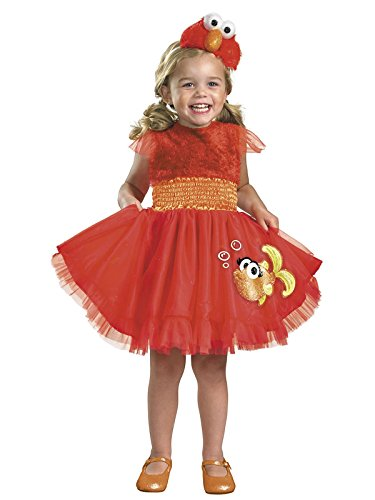 Frilly Elmo Costume - Medium (3T-4T) ()