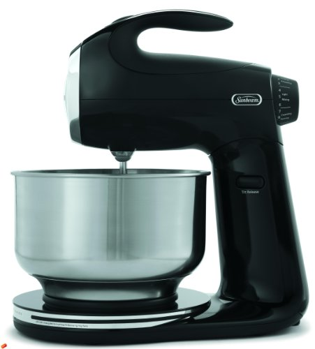 Sunbeam FPSBSM2102 Heritage Series 350-Watt Stand Mixer, Black