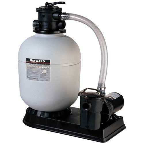 18'' Polymeric Sand Filter System with 1.5 HP Power Flo Pump