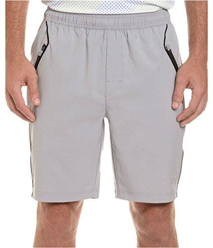 2(X)IST Men's Trainer Tech Short, Pebble, (Tech Trainer Shorts)