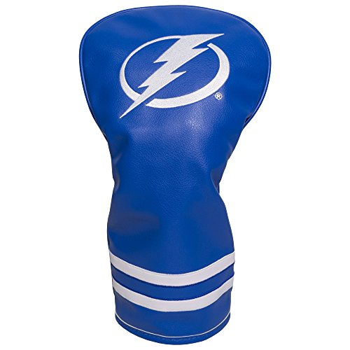 - Team Golf NHL Tampa Bay Lightning Vintage Driver Golf Club Headcover, Form Fitting Design, Retro Design & Superb Embroidery