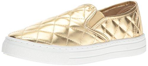Qupid Women's Reba-17C Sneaker, Gold, 8 M US