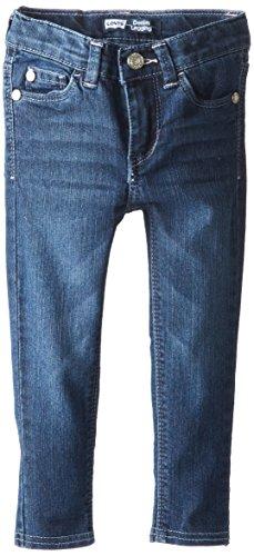 Levi's Little Girls' 710 Super Skinny Fit Classic Jeans, Best Friend Blue, 3T