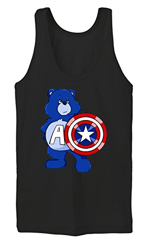 Captain Bear Tanktop Girls Noir Certified Freak