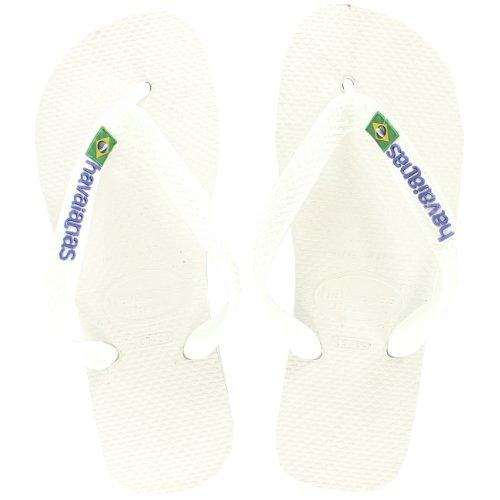 Havaianas Woman Logo Slip On Chancletas Summer Beach Sandal Nuevo