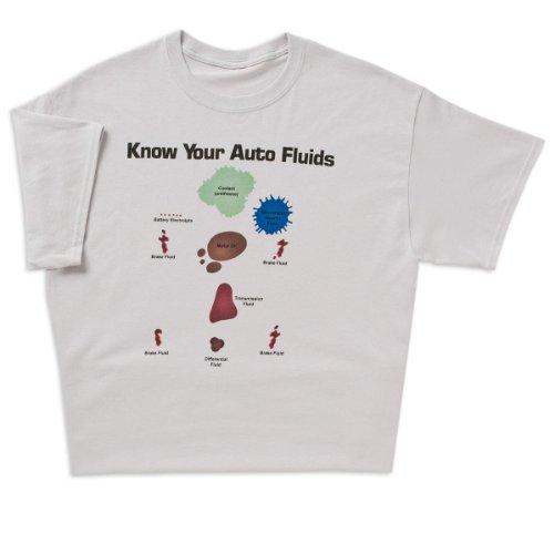 ComputerGear Know Your Auto Fluids T-shirt, X-Large