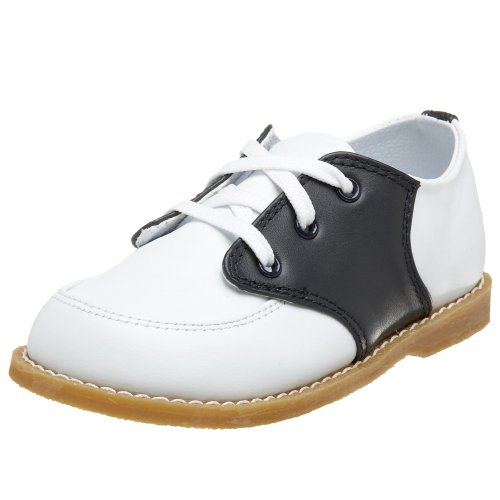 Baby Deer 5162 Conner Saddle Shoe (Toddler),White/Navy,9 M US Toddler