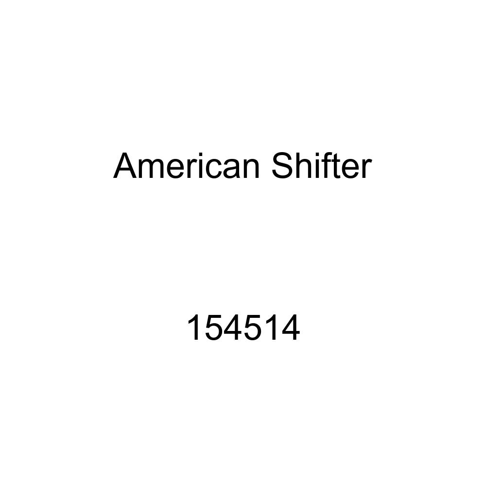 American Shifter 154514 White Retro Shift Knob with M16 x 1.5 Insert Black Corporal