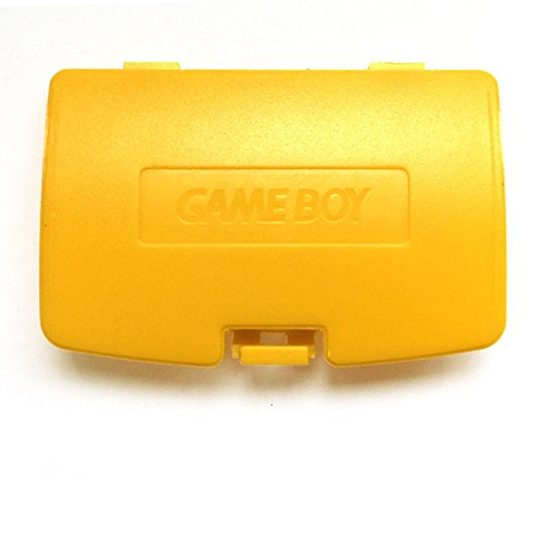 Game Color Cover Battery Boy (Battery Back Door Cover Case for Gameboy Color GBC Game Boy Color Replaceme Yellow)